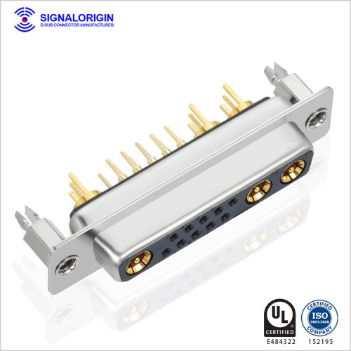 DB 13w3 female d sub coaxial computer video connector