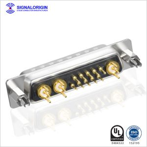 13w3 male d sub coaxial connector wholesale