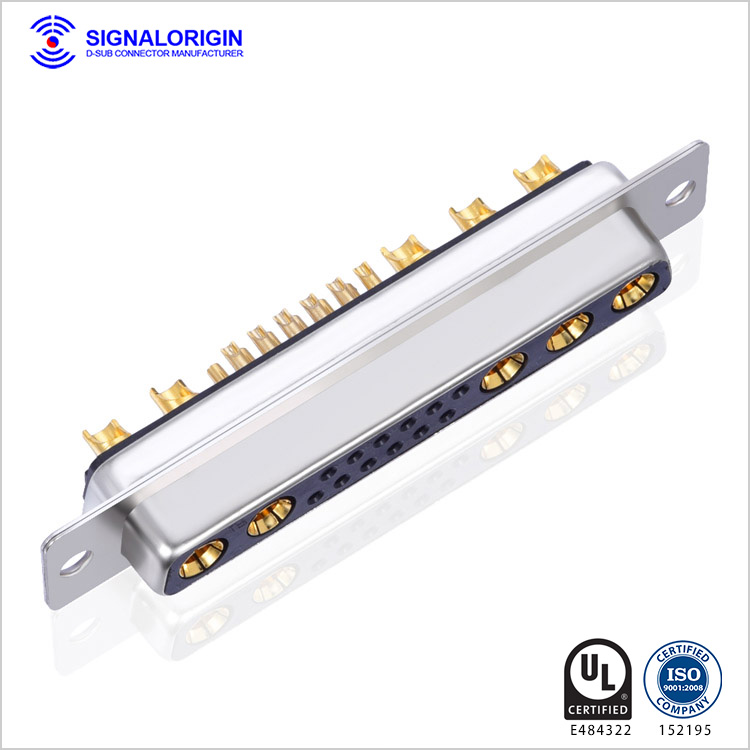 Combo D-SUB 17w5 Connector welding for cable