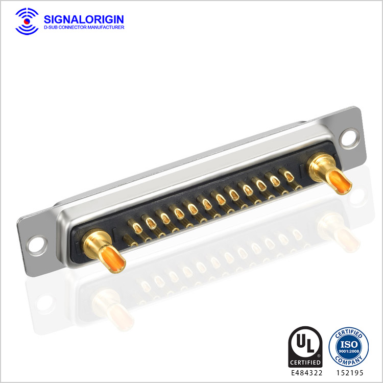 27W2 female combination d sub connectors for sale