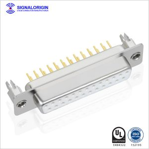 D sub pcb 25 pin female connector for sale