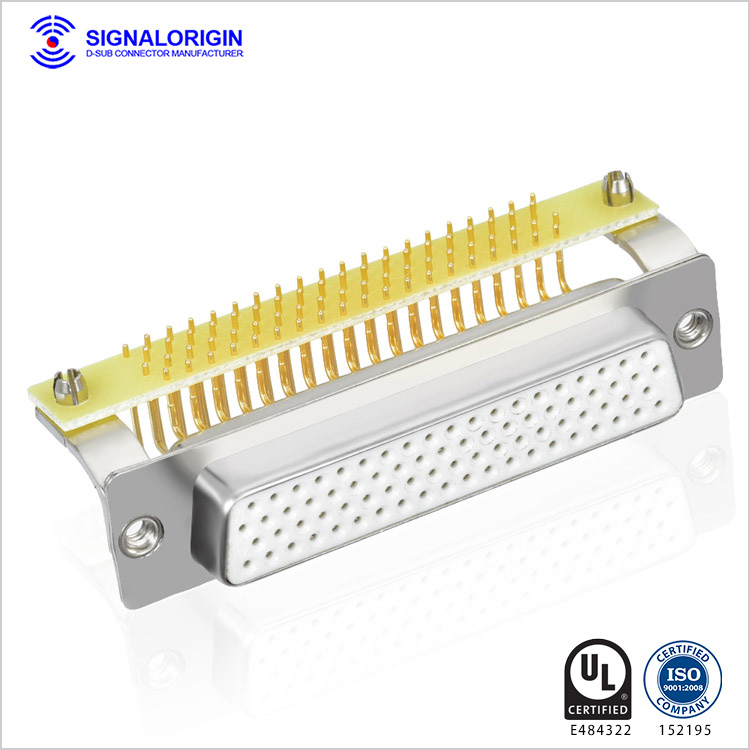 78 pin right angle pcb socket connector