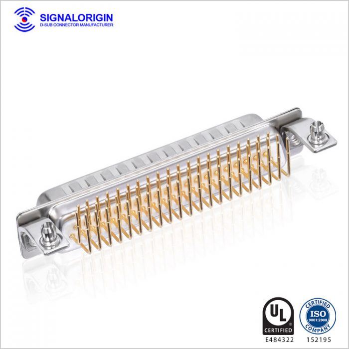 62 pin high density d-sub male connector