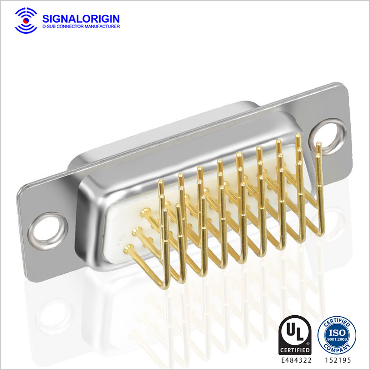 Standard angle D Sub 26 pin connector for sale
