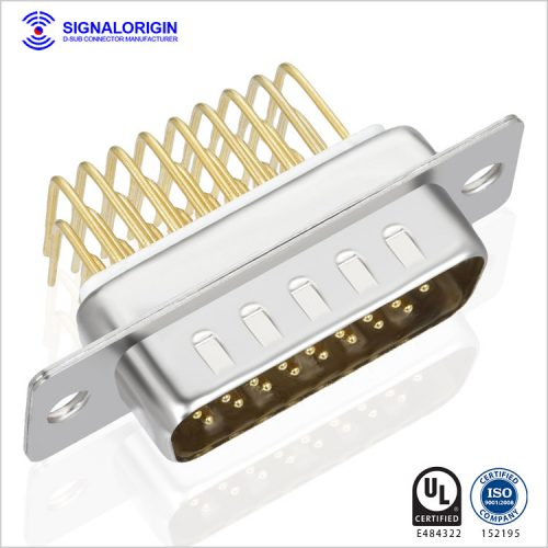 26 pin male 90 degree d sub connector