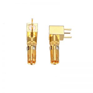 signal d sub male right angle coax terminal supplier