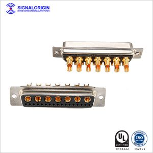 24W7 combo d sub female terminal connector