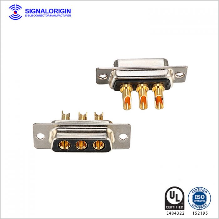 3W3 female combo d sub connector supplier