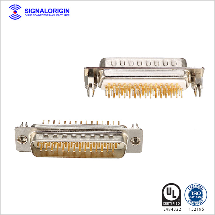 44 pin male d sub high density connectors