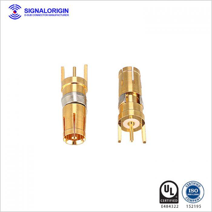 Power and signal coax d sub terminal manufacturer