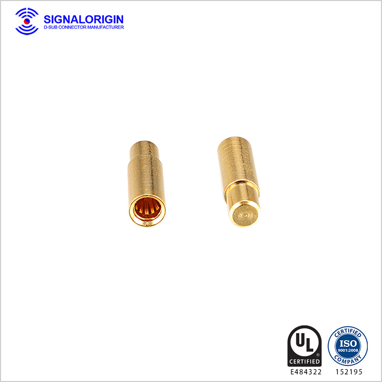 Power and signal d sub connector terminal wholesale