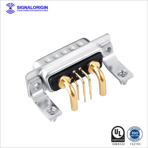 7w2 male right angle combo high power d-connector manufacturers