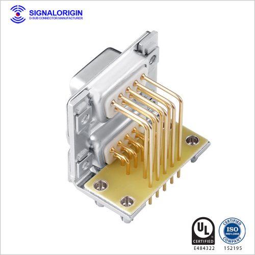 9 pin standard standard dual-port d-sub connector manufacturer
