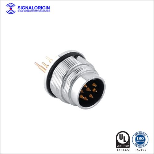 7 pin male waterproof circular connector manufacturers