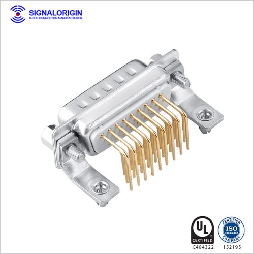 right angle 26 pin d-sub connector manufacturer