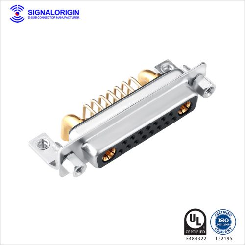 17w2 female right angle combo d-sub connector supplier