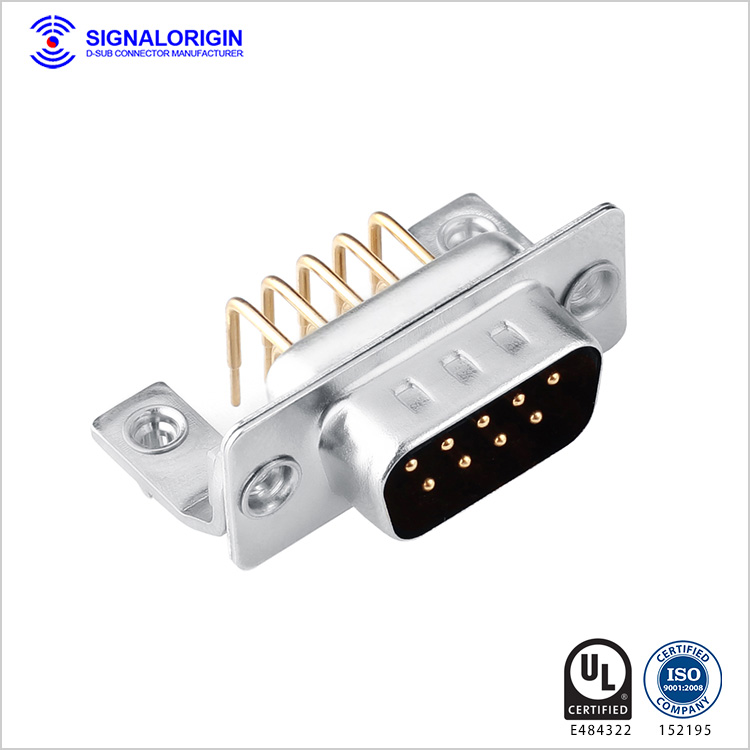 9 pin right angle d-sub power connector manufacturer