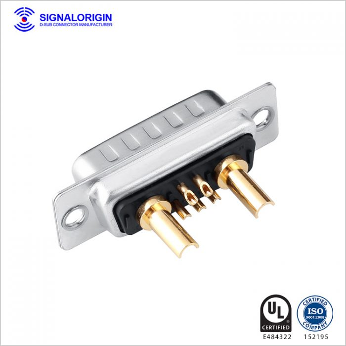7w2 solder cup combo male d-sub connector manufacturer