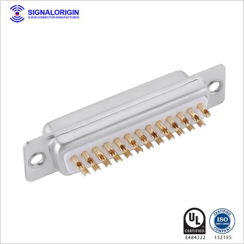 D-sub 25 pin female connector solder cup type