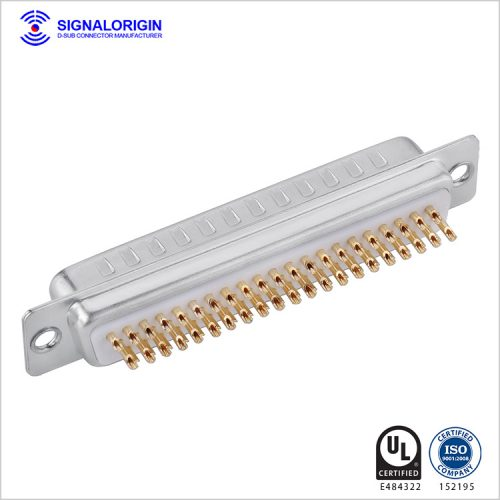 62 pin d-sub connector plug solder cup type