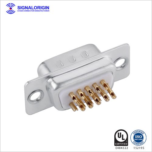 high density db15 connector male solder cup