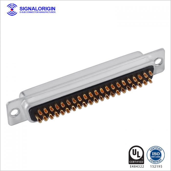62 pin d connector socket solder cup type