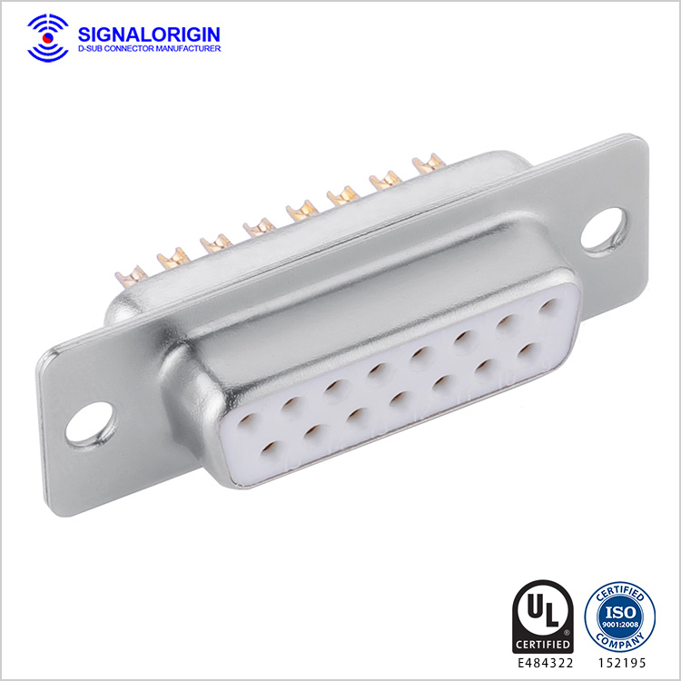 15 pin D-sub connector manufacturer
