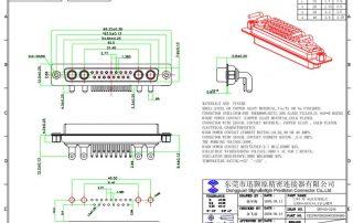 21W4 high power D-sub connector