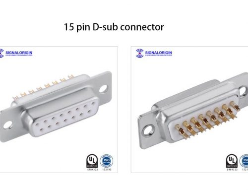 15 pin D-sub connector