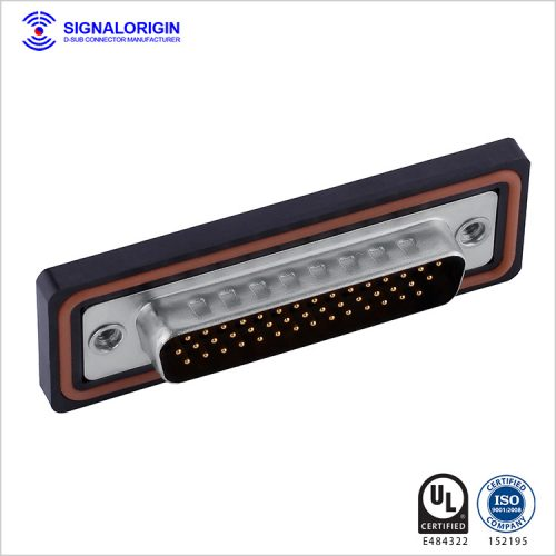 44 pin waterproof d-sub connector manufacturer in China