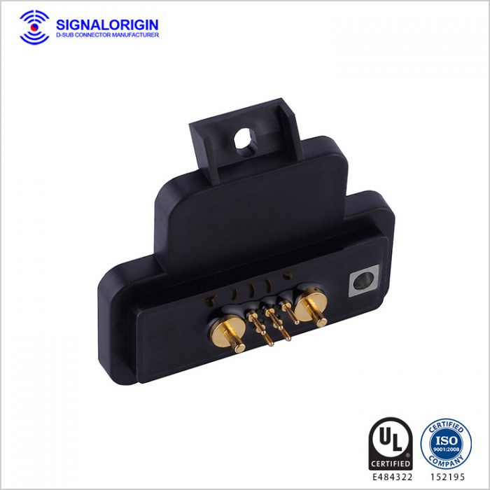 7W2 waterproof high current D-Sub connector