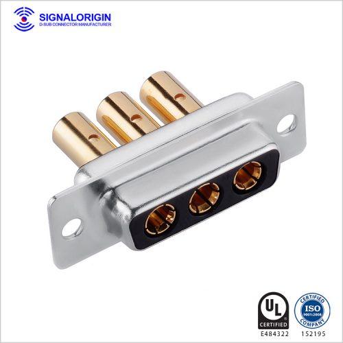 3W3 female D sub crimp connector manufacturer