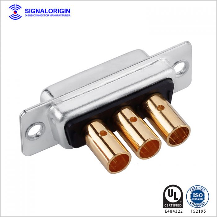 3W3 female D sub crimp connector manufacturer